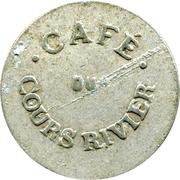 25 Centimes - Cafe du Cours Rivier - (Saint-Etienne 42) – avers