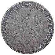 Cardinal de Richelieu 1636 – avers