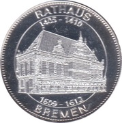 Token - Bremen (Rathaus) – avers