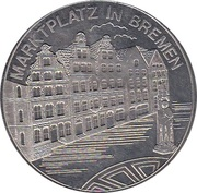 Token - Bremen (Marktplatz) – avers