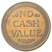 Token - No Cash Value (Clown; 25 mm) – revers