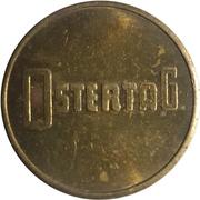 Safe deposit token - Ostertag – revers