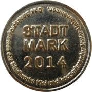 Token - Stadt Mark (Kiel) – revers