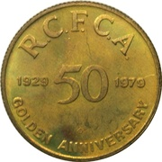 Token - 50th Anniverary of Canada's National Aeroclub – revers