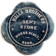 5 Dollars - Walla Brothers Dept Store – avers