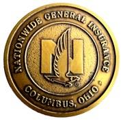 Token - Nationwide General Insurance (Columbus, Ohio) – avers