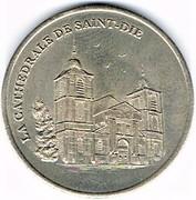 2 euro de Saint Dié (88) – revers