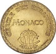 10 Francs - Cercle Des Etrangers – avers