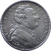 Jeton des Etats de Bretagne 1782 Rennes – avers