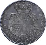 Jeton des Etats de Bretagne 1782 Rennes – revers