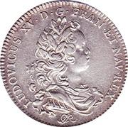 Jeton ville de Rouen Louis XV 1719 – avers
