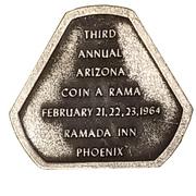 Token - Phoenix Coin Club 20th Anniversary (Phoenix, Arizona) – revers