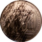 Token - Great Canadian Moments (The Last Spike - Canadian Pacific Railway) – avers