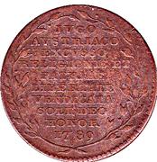 Comte de Flandres - Joseph II Republique – avers