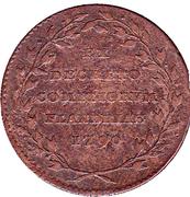 Comte de Flandres - Joseph II Republique – revers