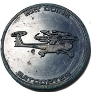 Bat coins - Batcopter – avers