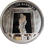 Token - Glück auf (Heilige Barbara) – avers