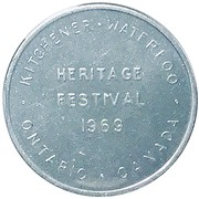 Heritage Festival - Kitchener-Waterloo 1969 – avers