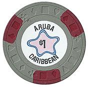 1 Dollar - Aruba Caribbean – avers