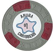 1 Dollar - Aruba Caribbean – revers