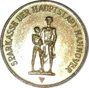 Token - Sparkasse Weltspartag 1967 (Hannover) – avers
