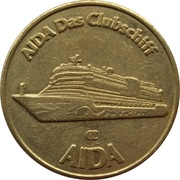 Token - Aida Clubschiff – revers