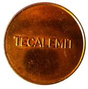 Jeton Tecalemit – revers