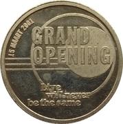 Jeton - Heineken Music Hall (Grand Opening) – avers