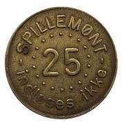 25 Spillemønt - Casablanca – avers