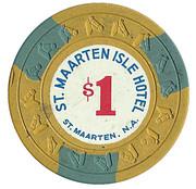 1 Dollar - St. Maarten Isle Hotel – revers