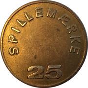 25 Spillemærke - Club Fortuna – revers
