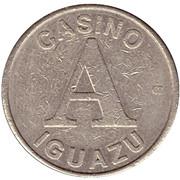 Jeton de casino - Casino Iguazu (A) – avers