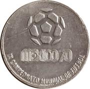 Jeton - Mexico 70 (Bulgaria 70) – avers