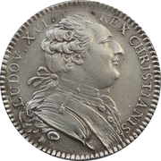 Jeton des Etats de Bretagne 1786 – avers
