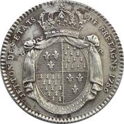 Jeton des Etats de Bretagne 1786 – revers