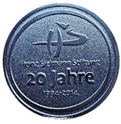 Token - 20 Years Heinz Sielmann Foundation – avers