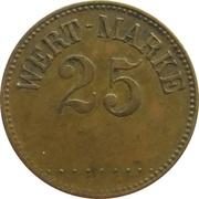 Wert-Marke 25 – avers