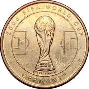 Token - 2006 FIFA World Cup (England) – revers