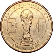 Token - 2006 FIFA World Cup (Angola) – revers