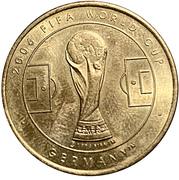 Token - 2006 FIFA World Cup (Croatia) – revers