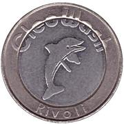 Jeton de lavage automobile - CleoWash (Rivoli ; 9 étoiles) – avers