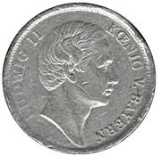 1 Gulden - Ludwig II (Bayerische Vereinsbank) – avers