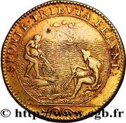 Jeton Royal - Louis XIV – revers