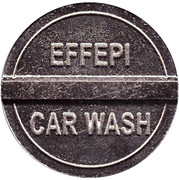 Jeton de lavage automobile - Effepi (Castronno) – revers
