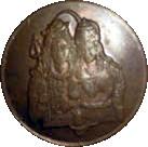 ¼ Anna - East India Company – revers