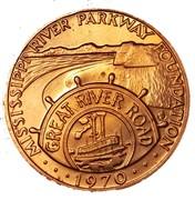 Jeton - Mississippi River Parkway Foundation – avers