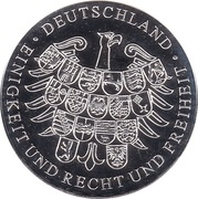 Token - Deutschland (Die Bremer Stadtmusikanten) – revers
