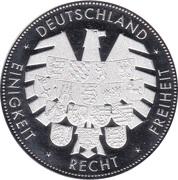 Token - Deutschland Einigkeit Recht Freiheit (Bremer Rathaus und Roland) – revers