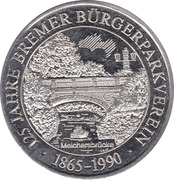 Token - 125 Jahre Bremer Bürgerparkverein – avers