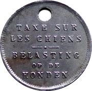 Jeton - Taxe sur les chiens (1926 CuNi) – avers